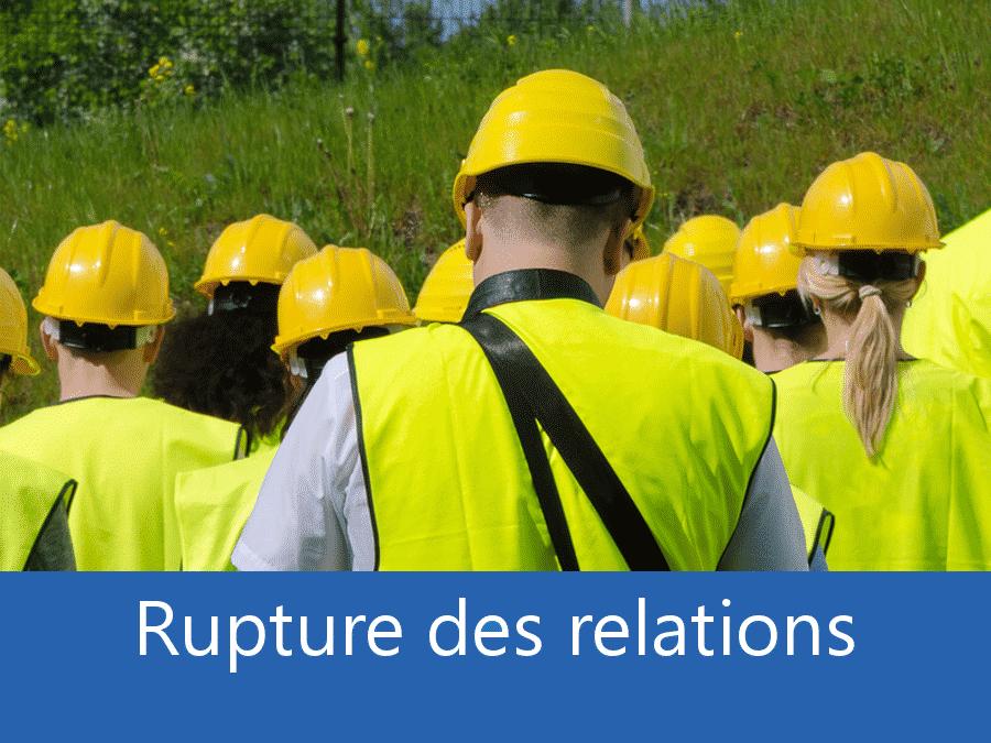 rupture des relation chantier 88, problème durant le chantier Gerardmer, stress chantier Epinal, problème durant le chantier Les Vosges,