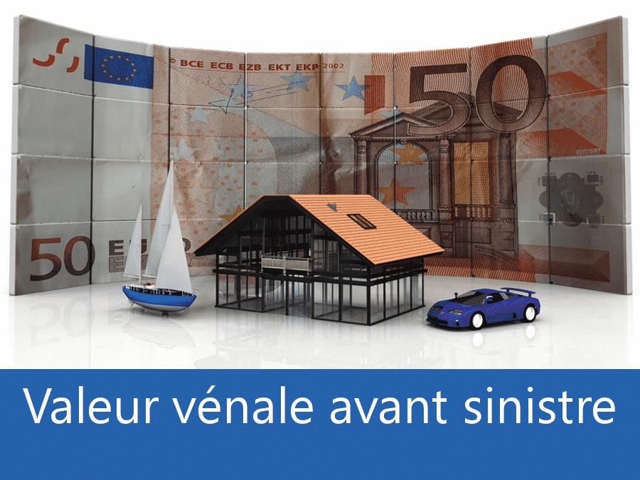 Valeur vénal avant sinistre Epinal, valeur des biens assurance 88, expert valeur vénale Les Vosges,